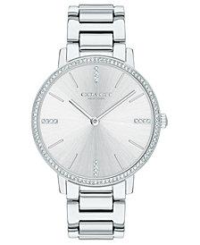COACH Women's Audrey Stainless Steel Bracelet Watch 35mm
