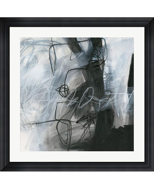 "Metaverse Whats Happening IV by Jane Davies Framed Art, 32"" x 32"""