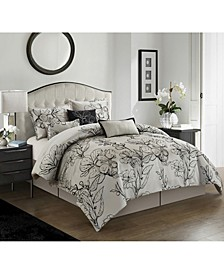 Georgia 7-Piece Queen Comforter Set