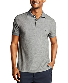 Men's Slim-Fit Deck Solid Polo Shirt
