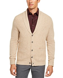 Men's Cashmere Button Cardigan, Created for Macy's