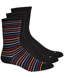HUE® Women's 3 Pack Super Soft Crew Socks