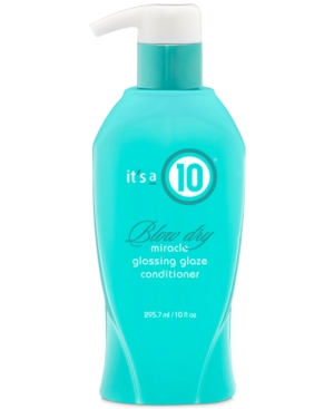 It's a 10 Blow Dry Miracle Glossing Glaze Conditioner, 10-oz, from Purebeauty Salon & Spa