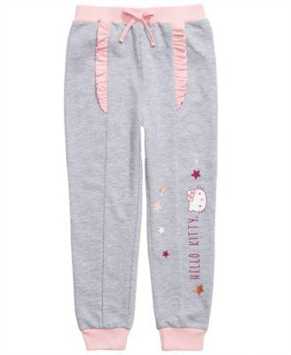 Hello Kitty Little Girls Jogger Pants