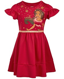 Little Girls Ruffle-Sleeve Elena Dress