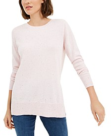 Cotton Crew-Neck Sweater, Created for Macy's