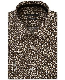 Men's Classic/Regular Fit Print Dress Shirt