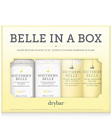 Drybar 4-Pc. Belle In A Box Volume-Boosting Essentials Travel Set