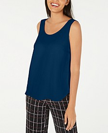 Sleeveless Scoop-Neck Shell, Created for Macy's