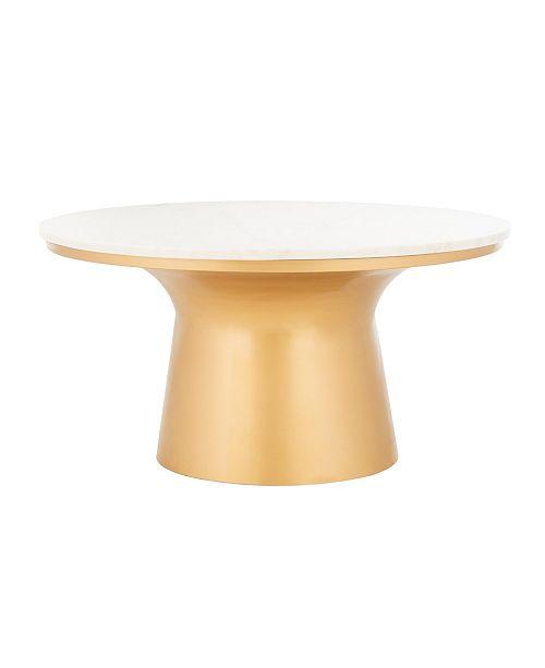 Furniture Mila Coffee Table, Quick Ship