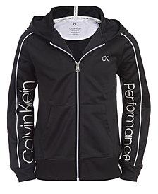 Calvin Klein Performance Big Girls Hooded Jacket