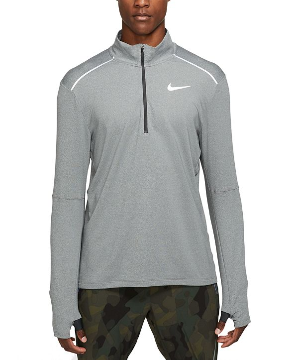 Nike Men's New Element Half-Zip Running Shirt