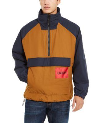 hugo boss men's zip jacket