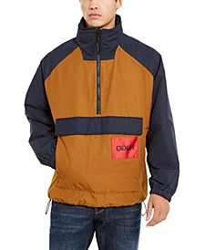 Boss Men's Half-Zip Colorblocked Jacket