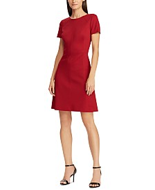 Lauren Ralph Lauren Jersey Short-Sleeve Dress