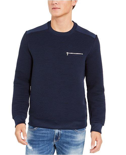 INC International Concepts INC Men's Ozzy Zip-Pocket Sweatshirt, Created For Macy's