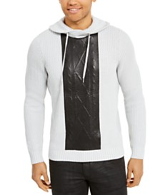 I.N.C. Men's High Rise Hooded Sweater, Created For Macy's