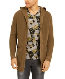 I.N.C. Men's Hooded Cardigan, Created For Macy's