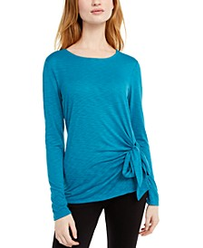 I.N.C. Side-Tie Top, Created For Macy's