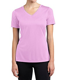 Short Sleeve Cotton Stretch Fitted V-Neck Tees