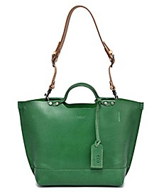 Gypsy Soul Leather Tote Bag