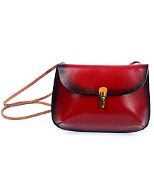 Ada Leather Crossbody Bag