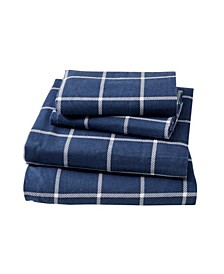 Great Bay Home Extra Soft Printed King Sheet Set