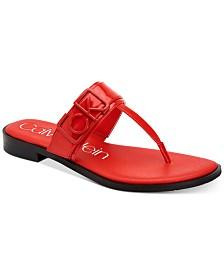 Calvin Klein Women's Tamura Flat Sandals