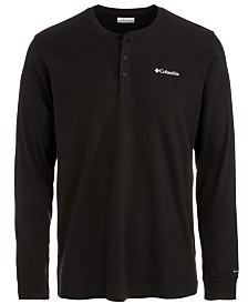 Columbia Men's Ketring Performance Stretch Moisture-Wicking Henley