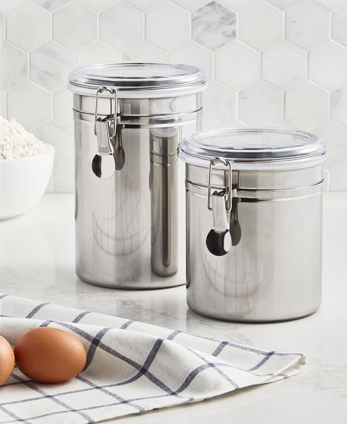 Martha Stewart Collection - Food Storage Containers, 2 Piece Set Canisters