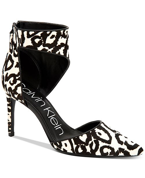 Calvin Klein Women's Rajon Dress Sandals