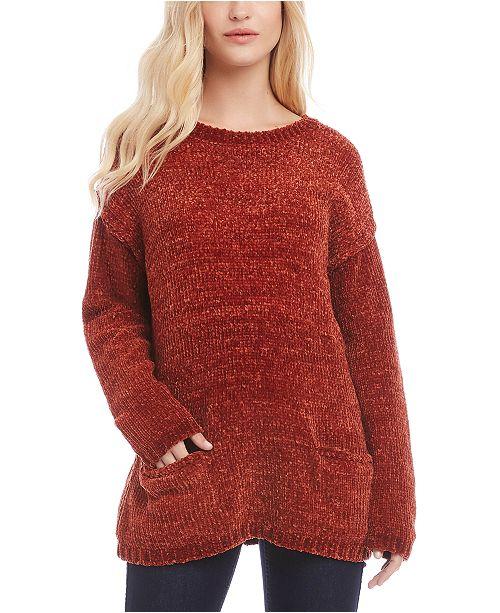 Karen Kane Drop-Shoulder Chenille Sweater
