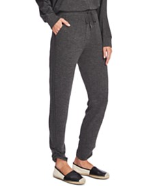 Vince Camuto Cozy Ruched-Leg Jogger Pants