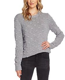 Cotton Popcorn Sweater