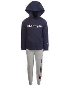 Champion Little Boys 2-Pc. Heritage Hoodie & Pants Set