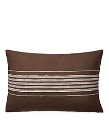 "Ralph Lauren Mason Stripe 16"" x 24"" Decorative Throw Pillow"