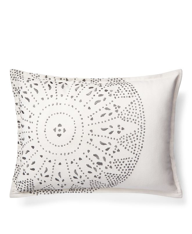 "Lauren Ralph Lauren Ralph Lauren Luke Embroidery 15"" X 20"" Decorative Throw Pillow"
