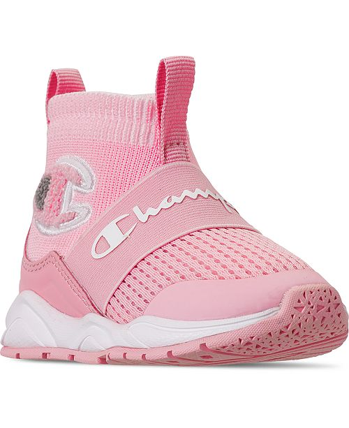 Champion Toddler Girls Rally Pro Casual Athletic Sneakers from Finish Line