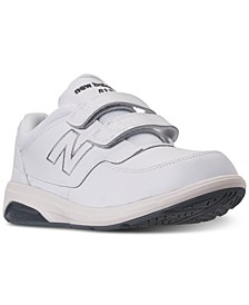 Men's 813 Stay-Put Closure Wide Width Walking Sneakers from Finish Line