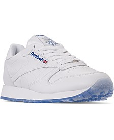 Men's Classic Leather Ice Casual Sneakers from Finish Line