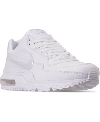 all white nike air max