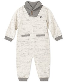 Baby Boys Marled Coverall