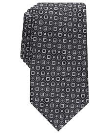 Men's Classic Neat Silk Tie, Created For Macy's