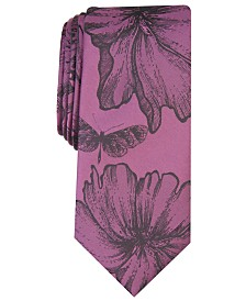 I.N.C. Men's Floral Graphic Tie, Created for Macy's