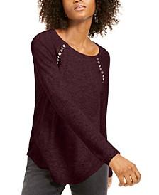 INC Peekaboo Grommet Sweater, Created For Macy's