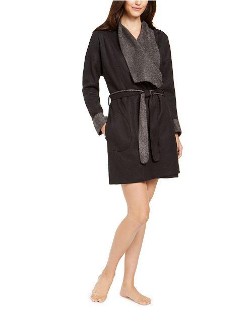 Alfani Super Soft Wrap Robe, Created For Macy's