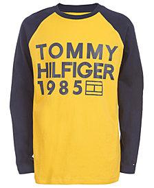 Tommy Hilfiger Big Boys Leo Colorblocked Logo T-Shirt