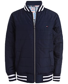 Tommy Hilfiger Little Boys Carter Reversible Bomber Jacket
