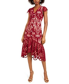 Ellington Lace Midi Dress