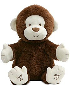 Baby Boys or Girls Animated Clappy the Monkey Interactive Plush